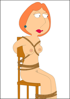 Lois Tied to a Chair by xvqwertyvx
