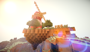 Minecraft - Windmill in the Sky by GlitchMaster7