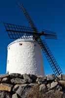 Don Quixote's Windmills by Rubengda