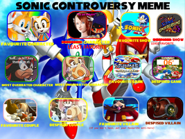Toad 900 Sonic Controversy Meme by Toad900
