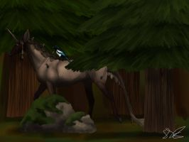 Back to the Dark Forest by MelonHeadGirl