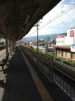 Koshienguchi Station by JapanischJuss