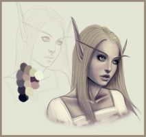 Helen wip by cryptfever