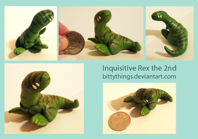 Inquisitive Rex the 2nd - COMMISSION by Bittythings