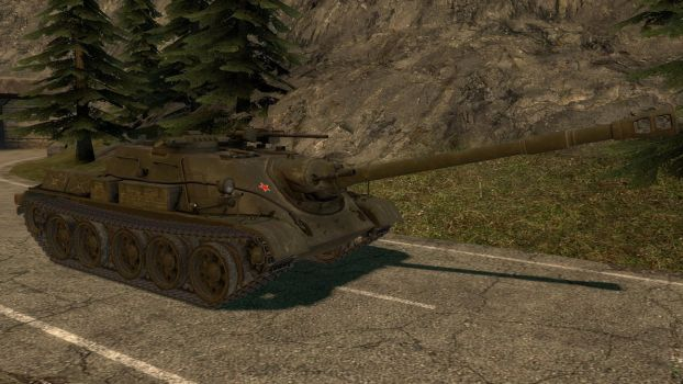 World of Tanks SU-122-54 (Object 600) by Portugueseotaku