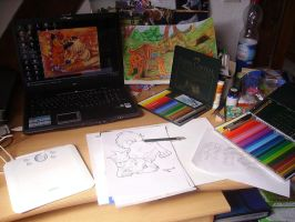 My Workspace by Rayvanna