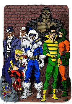 The Rogues by droxus7
