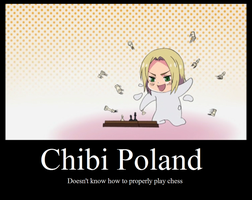 Chibi Poland by DarkVampirequeen9
