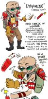JONNY 2 x 4 (ASSASSIN AU DESIGN) by C2ndy2c1d