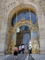 Golden Entrance of the Petit Palais by EUtouring