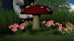 Mushroom Picking by The--Grimreaper