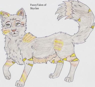 Fuzzytalon of Skyclan by Seri-goyle