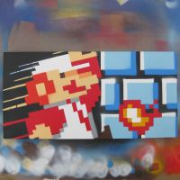 Super Mario Go .. Front view by arcade-art