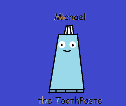 Michael the Tooth Paste (DHMIS OC) by papyrus-greatest