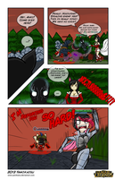 Comic LoLz Contest Entry : Stealing Red Buff by Yamikaisu