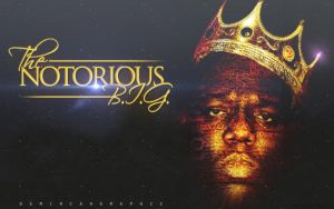 The Notorious B I G by DemircanGraphic