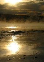 Sunset in Yellowstone by MirMidPhotos