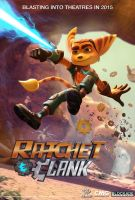 ratchet and Clank The Movie Poster by sonicgx13