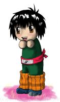 Naruto - chibi Rock Lee by Nebride