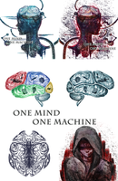 Brain Illustrations by Arbitrary-Means