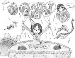 HAPPY 18TH!! by Tsumikaze