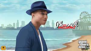 Pharrell Williams Vector by SanchezGraphic