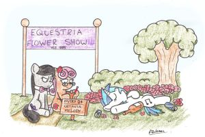 Flower Show by bobthedalek