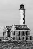 Old Lighthouse - Klein Curacao by ssabbath