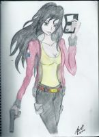 Agent Kagome by SilverHeartCrest