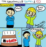 The Adventures Of James and Ed #1 Oh My God! by GothicTaco198