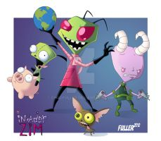INVADER ZIM by Chadfuller