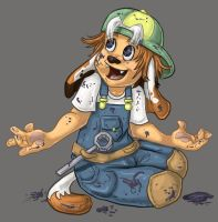 Hiccups: Toddler Luc by ph00