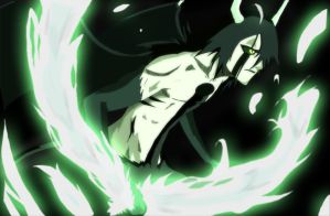 Bleach ulquiorra schiffer by greengiant2012