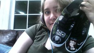 Stan N3verDead shoes (cause I'm pathetic) XD by MissSallyCabbage