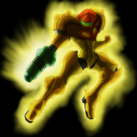 Metroid - Female Badassery by maesejesus