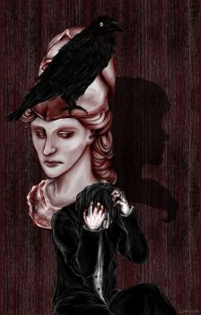 The Raven by waffrus