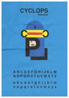 Cyclops Typeface by mattcantdraw
