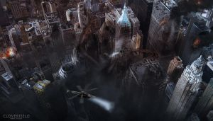 CLOVERFIELD by jamesdesign1