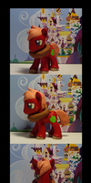 MLP Custom- Large Size Big Machintosh by himanuts