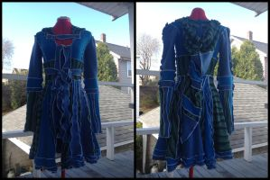 Blue Elf CoatDress by Mink-the-Satyr