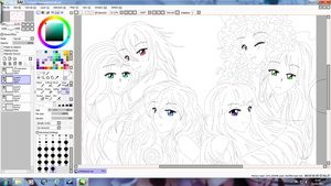 WIP MLP: FiM Mane 6 Human Group (Updated) by Crealivvity