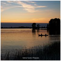 One August Evening by Val-Faustino