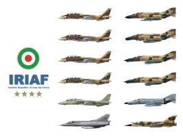 Iranian Air Force by Pedram