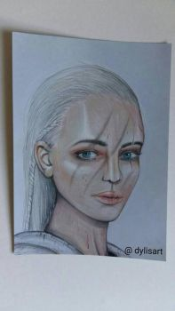 Nord woman  by Dylisart