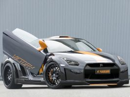 Nissan-GT-R Hamann Victory by Morfiuss