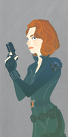 Black Widow by fooshigi