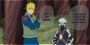 Naruto 654: Teacher and Student by YameGero