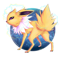 Jolteon by Kitsooki