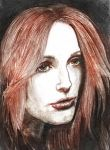 Julianne Moore (colored) by V-Redmond
