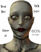 Dead DOll - Dark Stock by WitsResources